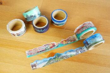 丸天産業ラウンドトップROUNDTOPマスキングテープ矢野デザインT&H日本の城YD-MK-096#207#