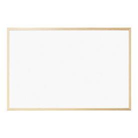 ナカバヤシ ウッドホワイトボード W900×H600×D14mm WBM-E9060NMナチュラル木目