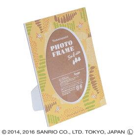 ナカバヤシ ハミングミント北欧シリーズ Vカットマット台紙 (ペーパー フォトフレーム)(L判収納) DGVM-HM-L-5 イエロー #300#