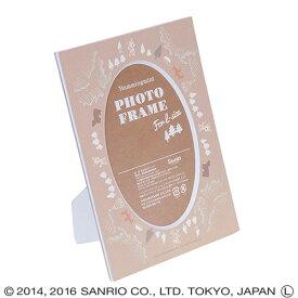 ナカバヤシ ハミングミント北欧シリーズ Vカットマット台紙 (ペーパー フォトフレーム)(L判収納) DGVM-HM-L-6 ベージュ #300#