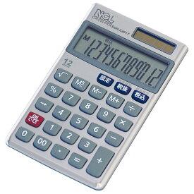 ナカバヤシ 電卓 ケース付 ECH-2201T 激安