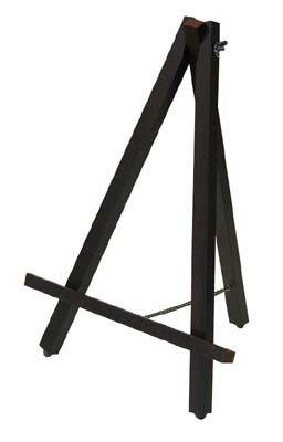 \ママ割5倍対象/ナカバヤシ 木製イーゼル Sサイズ EZ-001DM ダーク木目