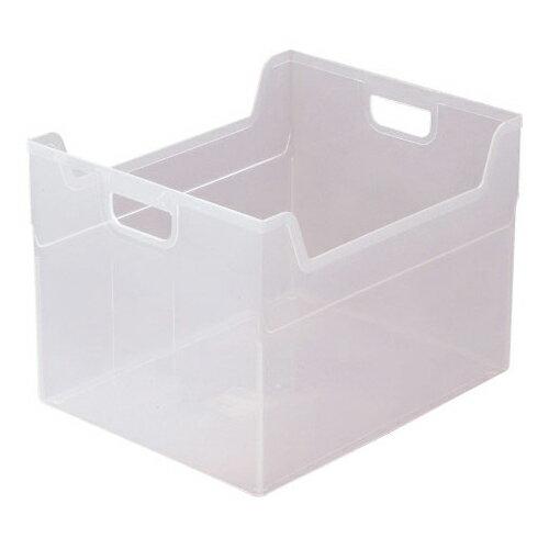 ナカバヤシ かたづけベスト キャパティE5 FB-E5-CRN クリア 収納ボックス 収納用品