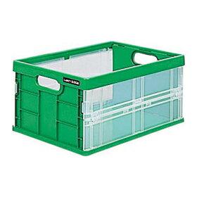 ナカバヤシ キャパティ フレックスコンテナ ミニ CFC-301-G グリーン 収納ボックス 収納用品 激安