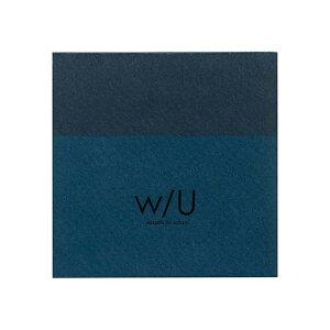 ナカバヤシ w/U(watashi no sobani) A7 ブロックメモ WU-A701-4 ネイビーブラック