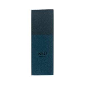 ナカバヤシ w/U(watashi no sobani) A6 スリムメモ WU-A601-4 ネイビーブラック