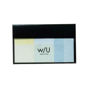 ナカバヤシ w/U(watashi no sobani) ミックス付箋 WU-FSTM-3 グリーンレモネード