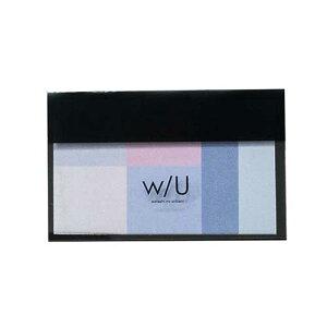 ナカバヤシ w/U(watashi no sobani) ミックス付箋 WU-FSTM-4 ラベンダー