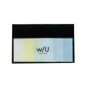 ナカバヤシ w/U(watashi no sobani) スティック付箋 WU-FSTS-3 グリーンレモネード