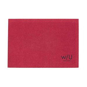 【ポイント5倍】ナカバヤシ w/U(watashi no sobani) レターブック(一段) WU-LTS1-4 ラズベリーレッド