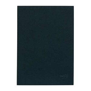 ナカバヤシ w/U(watashi no sobani) レターブック(二段) WU-LTS2-3 ネイビーブラック
