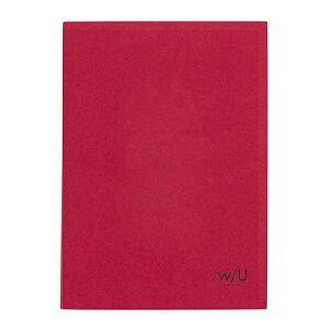 【ポイント5倍】ナカバヤシ w/U(watashi no sobani) レターブック(二段) WU-LTS2-4 ラズベリーレッド