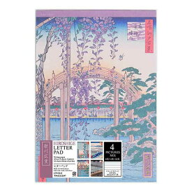 ナカバヤシ 浮世絵ステーショナリー 歌川広重 A5・レターパッド LTP-03-M