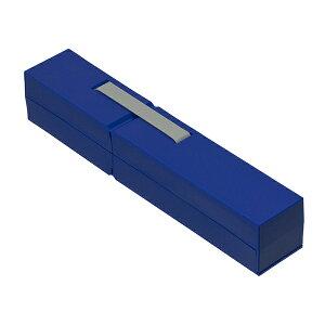 【ポイント5倍】ナカバヤシ ディスプレイペンケース Sサイズ ダークブルー PCN-DP01 DB