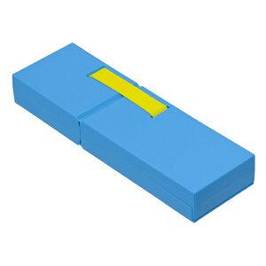 ナカバヤシ ディスプレイペンケース Mサイズ ブルー PCN-DP02 BL