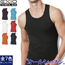 【ネコポス送料無料】EXIO エクシオ タンクトップ コンプレッション メンズ 接触冷感 インナー アンダーシャツ 全9色 …