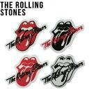 【The Rolling Stones】ローリングストーンズワッペン 4タイプ