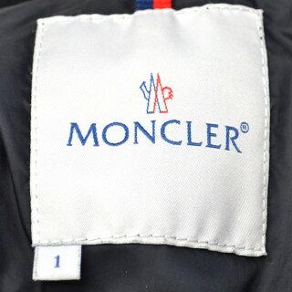 【キャッシュレス5%還元】MONCLER/モンクレール/レディース/ダウンジャンパー/水色サイズ:1【中古】【送料無料】