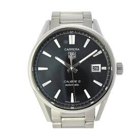 TAG HEUER タグホイヤー カレラ バックスケルトン メンズ腕時計 SS WAR211A.BA0782 黒文字盤 自動巻き 【中古】【送料無料】