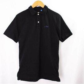 【キャッシュレス5%還元】マークジェイコブス 半袖ポロシャツ Marc Jacobs 黒 サイズ:S コットン メンズ 【中古】