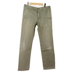 【キャッシュレス5%還元】ユナイテッドアローズ パンツ メンズ UNITED ARROWS カーキ S 【中古】