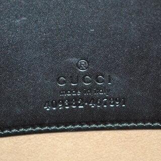 グッチクラッチバッグレザーグッチXL409382GUCCIブラック【未使用品】【送料無料】