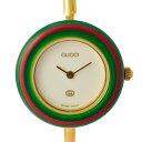 グッチ 腕時計 レディース 11 12 チェンジベゼル GUCCI 文字盤白 クオーツ 【中古】【送料無料】