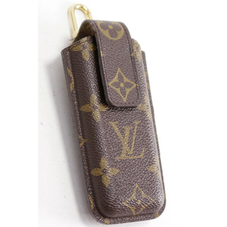 【中古】ルイヴィトン 携帯ケース エテュイテレフォンジャポン M63050 モノグラム LOUIS VUITTON[送料無料]