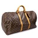 【中古】ルイヴィトン ボストンバッグ キーポル60 モノグラム ブラウン 旅行バッグ M41422 LOUIS VUITTON [送料無料]