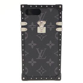 【キャッシュレス5%還元】【中古】ルイヴィトン iPhoneケース iPhone7+ケース アイトランク モノグラムエクリプス M64404 LOUIS VUITTON【送料無料】