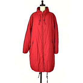 【キャッシュレス5%還元】【中古】バーバリーズ 中綿入りコート レディース 赤 サイズ:15号 BURBERRYS【送料無料】