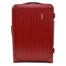 【キャッシュレス5%還元】【中古】リモワ スーツケース サルサ 85552 ポリカーボネート レッド マット 35L RIMOWA 【送料無料】