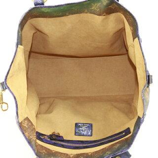[中古]ルイヴィトントートバッグハートブレイクモノグラムジョークスM95740パープル×ブルー×オレンジ×グリーンLOUISVUITTON【送料無料】