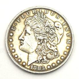 【中古】古銭 1ドル 銀貨 アメリカモルガン 1883 ミント コイン 貨幣 アンティーク ヴィンテージ [送料無料]