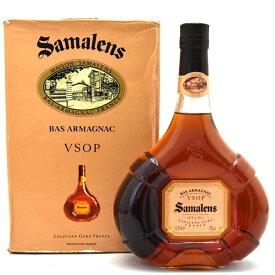 【中古】ブランデー サマランス VSOP BASARMAGNAC 700ml 40度 Samalens [送料無料][未開栓]