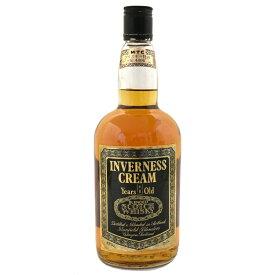 【中古】ウイスキー インバネスクリーム 8年 特級 スコッチ BLENDED SCOTCHWHISKY 750ml 43度 INVERNESSCREAM [送料無料][未開栓]