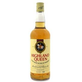 【中古】ウイスキー ハイランドクイーン ファイン オールド OLD 特級 スコッチ SCOTCHWHISKY 750ml 43度 HIGHLANDQUEEN [送料無料][未開栓]