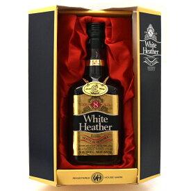 【中古】ウイスキー ホワイトヘザー 8年 デラックス 旧ボトル 特級 スコッチ DELUXE BLENDED SCOTCHWHISKY 750ml 43度 White Heather [送料無料][未開栓]