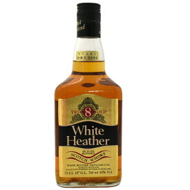 【中古】ウイスキー ホワイトヘザー 8年 旧ボトル 特級 スコッチ SCOTCHWHISKY DELUXE BLENDED 750ml 43度 WhiteHeather [送料無料][未開栓]