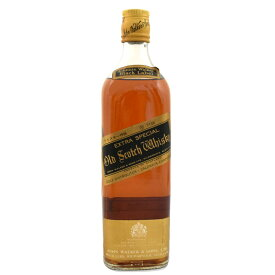 【中古】ウイスキー ジョニーウォーカー ブラックラベル エクストラ 特級 金キャップ スコッチ SCOTCHWHISKY 760ml 43度 JohnnieWalker [送料無料][未開栓]