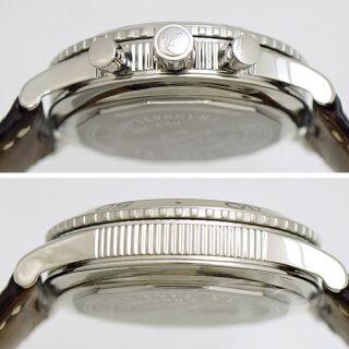 ブレゲ腕時計タイプXXトランスアトランティック3820STH29W6BreguetメンズSS×レザーブラック文字盤オートマ時計【中古】【送料無料】