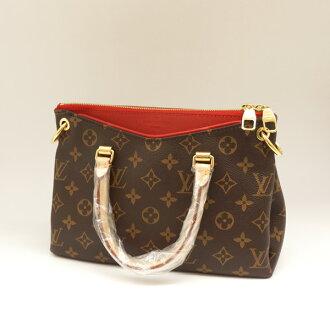 LOUIS VUITTON / Louis Vuitton / Pallas BB Cerise /M41241/SP2194 / Monogram / shoulder bag / Red [used]