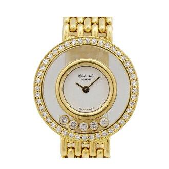 Chopard and Chopard happy diamonds-5P/4115 1 / K18 / quartz / women's [used]