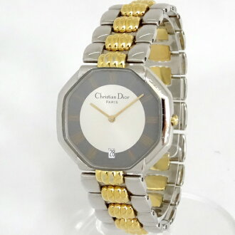 -Christian Dior and Dior/men's quartz/Kombi/gold / silver /D45-204-