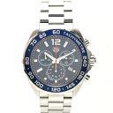 【中古】タグホイヤー フォーミュラ1 クロノグラフ メンズ 腕時計 クオーツ ステンレススチール 青文字盤 CAZ1014 TAG HEUER [送料無料…