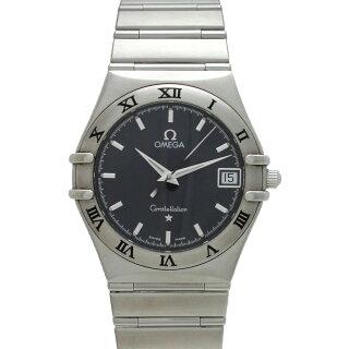 OMEGAオメガコンステレーションメンズ腕時計SS1512.40クオーツネイビー文字盤【中古】【送料無料】
