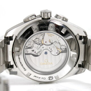 オメガ腕時計シーマスターアクアテラGMTクロノ231.10.44.52.06.001OMEGAメンズ自動巻きグレー文字盤【中古】【送料無料】