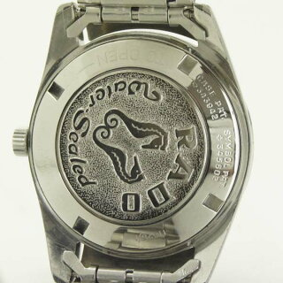 ラドーメンズ腕時計ゴールデンホース30石11675RADOSS自動巻きシルバー文字盤【中古】【送料無料】