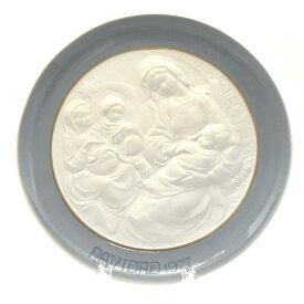 【中古】リヤドロ 飾り皿 キリスト降誕 1977年 20cm ヴィンテージ プレート インテリア LLADRÓ[送料無料][美品]