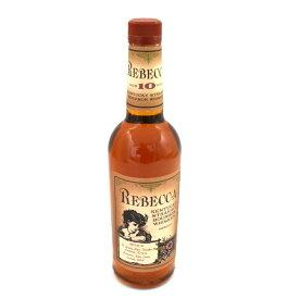 【中古】ウイスキー レベッカ 10年 ケンタッキー ストレートバーボン 700ml 43度 REBECCA [送料無料][未開栓]